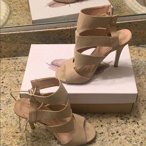 Used beige heel (Glaze)